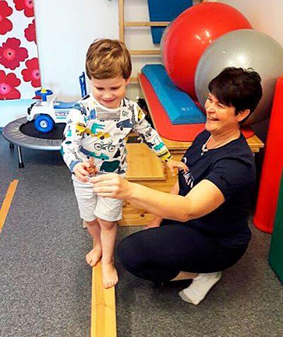 Vauvojen ja lasten fysioterapia